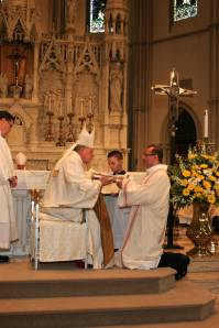 Receiving the Book of the Gospels