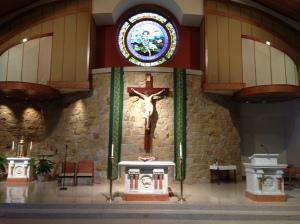Holy Sepulcher sanctuary