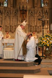 Laying on of Hands for ordination